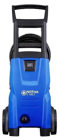 Nilfisk C120.7-6 PC EU- Hidrolimpiadora de agua a presión, 1400 W, azul [Clase de eficiencia energética A]