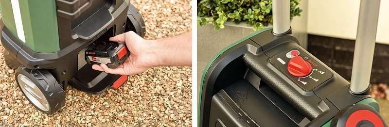 Bosch Fontus hidrolavadora bateria caracteristicas